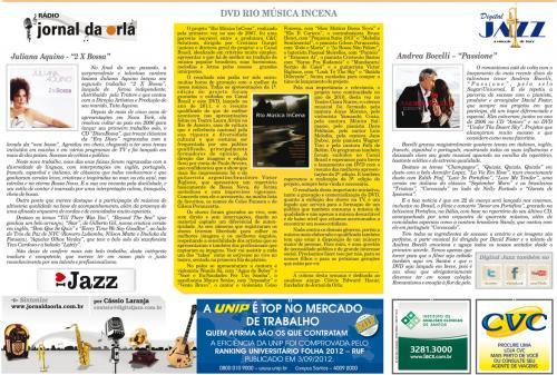 DVD RIO MÚSICA INCENA