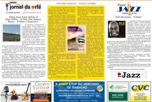DVD RIO SONATA – NANA CAYMMI