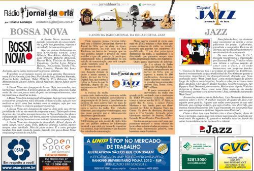 2 ANOS DA RÁDIO JORNAL DA ORLA/DIGITAL JAZZ