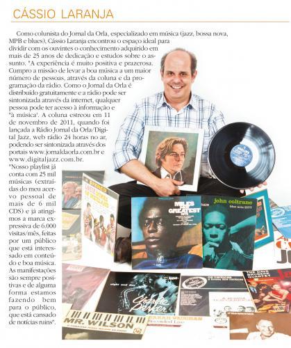 Edição Especial de 40 anos do Jornal da Orla - 2 anos da Rádio Jornal da Orla/Digital Jazz.: