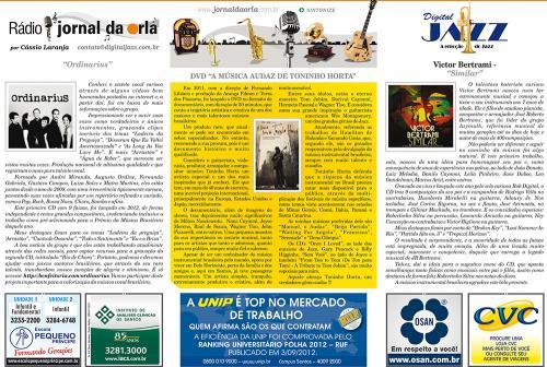 DVD A MÚSICA AUDAZ DE TONINHO HORTA