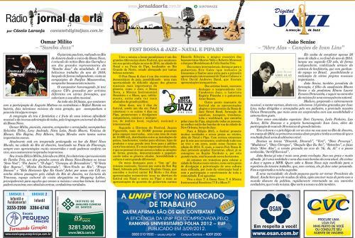FEST BOSSA & JAZZ – NATAL E PIPA/RN