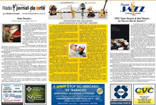 ENCONTRO DE GIGANTES: JOÃO DONATO & CHUCHU VALDÉS