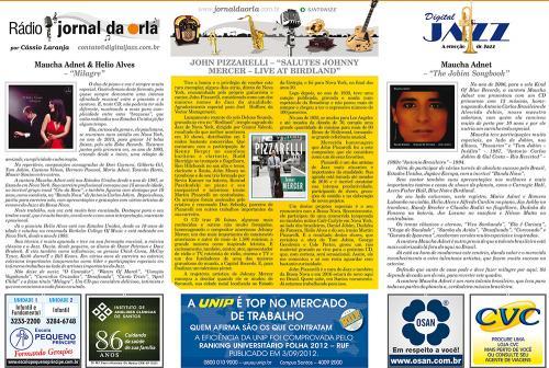 "JOHN PIZZARELLI – ""SALUTES JOHNNY MERCER – LIVE AT BIRDLAND"""