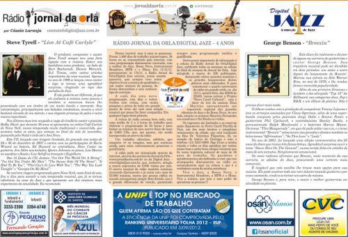 RÁDIO JORNAL DA ORLA/DIGITAL JAZZ – 4 ANOS