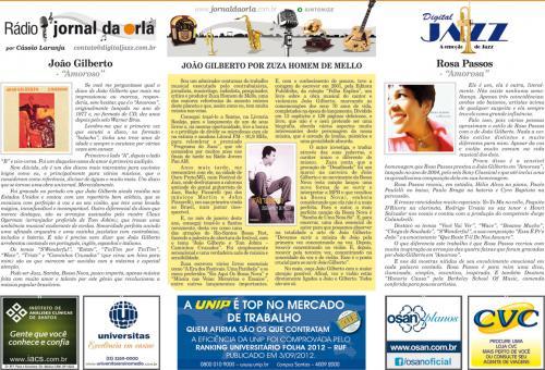 JOÃO GILBERTO POR ZUZA HOMEM DE MELLO