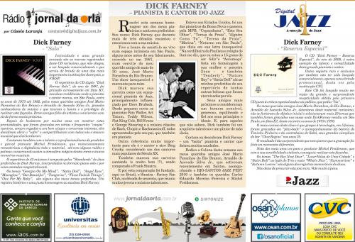 DICK FARNEY – PIANISTA E CANTOR DO JAZZ