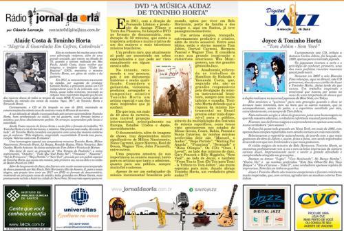 """DVD """"A MÚSICA AUDAZ  - DE TONINHO HORTA"""""""