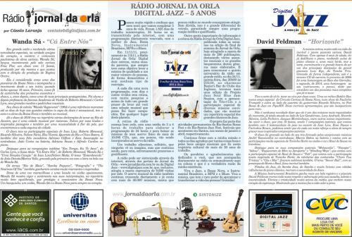 RÁDIO JORNAL DA ORLA DIGITAL JAZZ – 5 ANOS