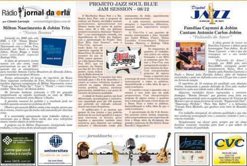 PROJETO JAZZ SOUL BLUE JAM SESSION – 08/12