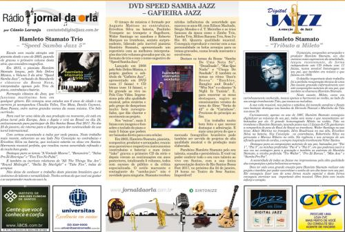 DVD SPEED SAMBA JAZZ – GAFIEIRA JAZZ