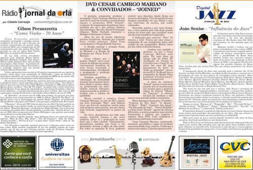 """DVD CESAR CAMARGO MARIANO & CONVIDADOS – """"JOINED"""""""