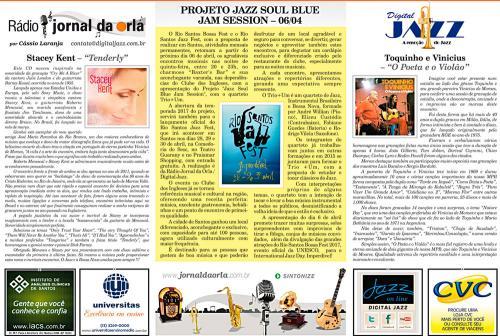 PROJETO JAZZ SOUL BLUE JAM SESSION – 06/04