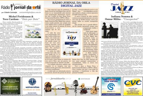 RÁDIO JORNAL DA ORLA/DIGITAL JAZZ