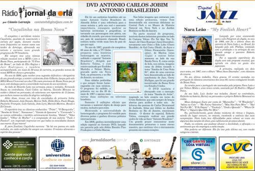 DVD ANTONIO CARLOS JOBIM – ANTONIO BRASILEIRO