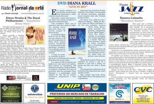 """DVD DIANA KRALL – """"LIVE IN RIO"""""""