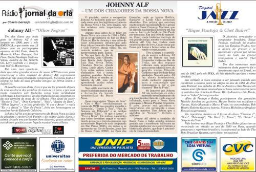 JOHNNY ALF – UM DOS CRIADORES DA BOSSA NOVA