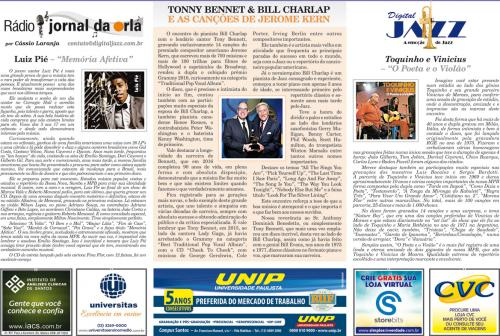 TONNY BENNET & BILL CHARLAP E AS CANÇÕES DE JEROME KERN
