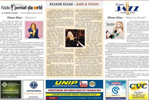 ELIANE ELIAS – JAZZ & PIANO