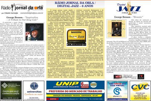 RÁDIO JORNAL DA ORLA/DIGITAL JAZZ – 6 ANOS