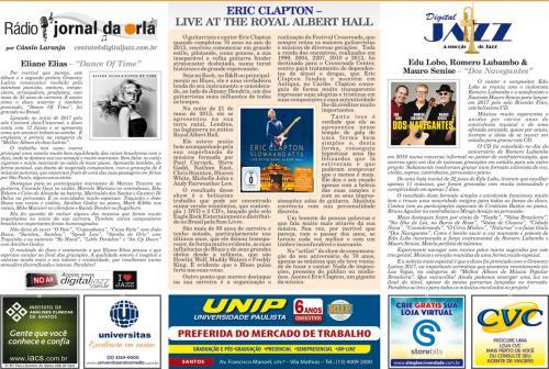 ERIC CLAPTON – LIVE AT THE ROYAL ALBERT HALL