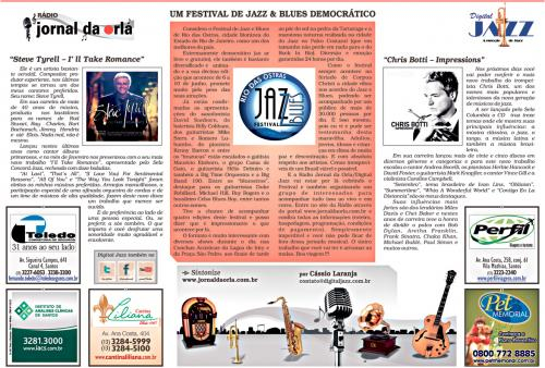 Um Festival de Jazz e Blues democrático