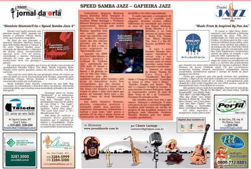 Speed Samba Jazz – Gafieira Jazz