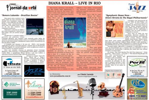DIANA KRALL – LIVE IN RIO