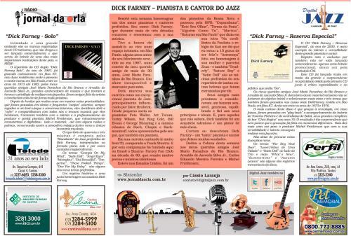 Dick Farney - Pianista e Cantor do Jazz