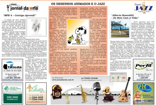 Os Desenhos Animados e o Jazz