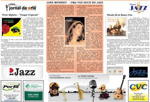 Jane Monheit - Uma voz doce do Jazz