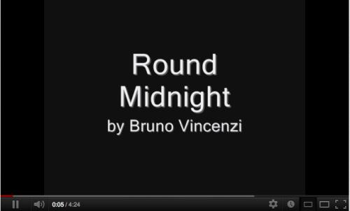 BRUNO VINCENZI Jovem cantor de Jazz com apenas 16 anos